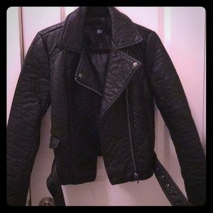 Leather Forever 21 Jacket SZ M